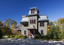 Residential-Victorian Guest Cottage-New Construction-Front Entry DCA