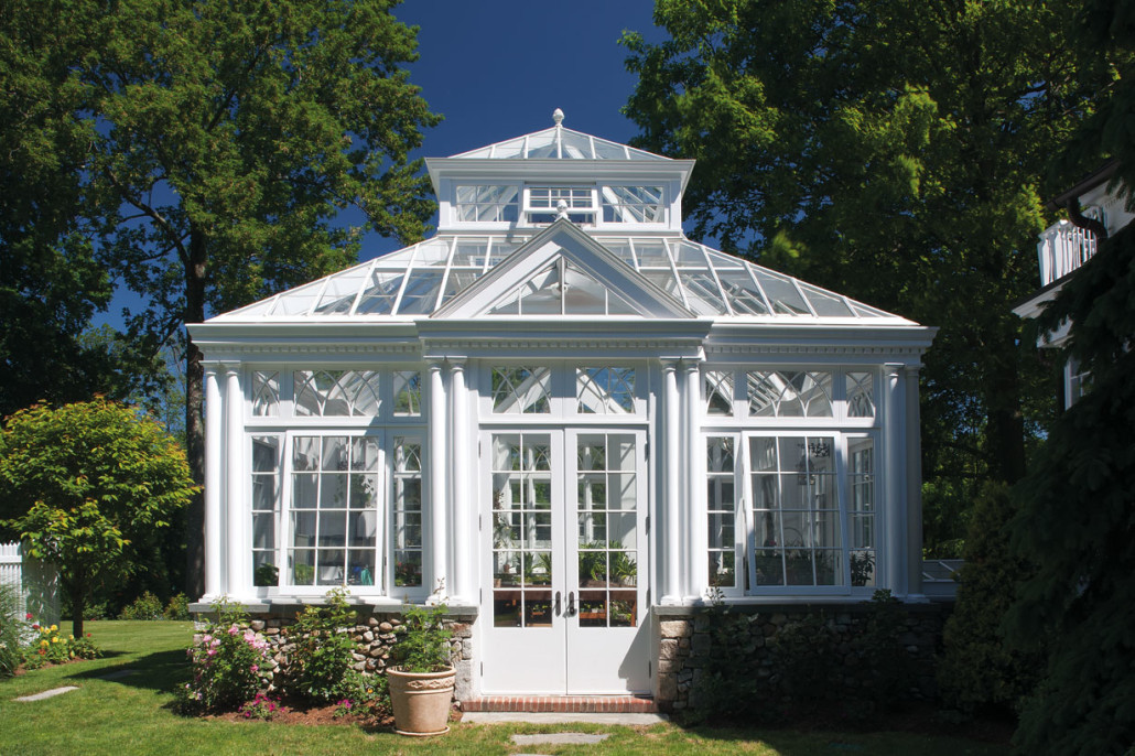 English conservatory doyle coffin architecture for Adding a conservatory