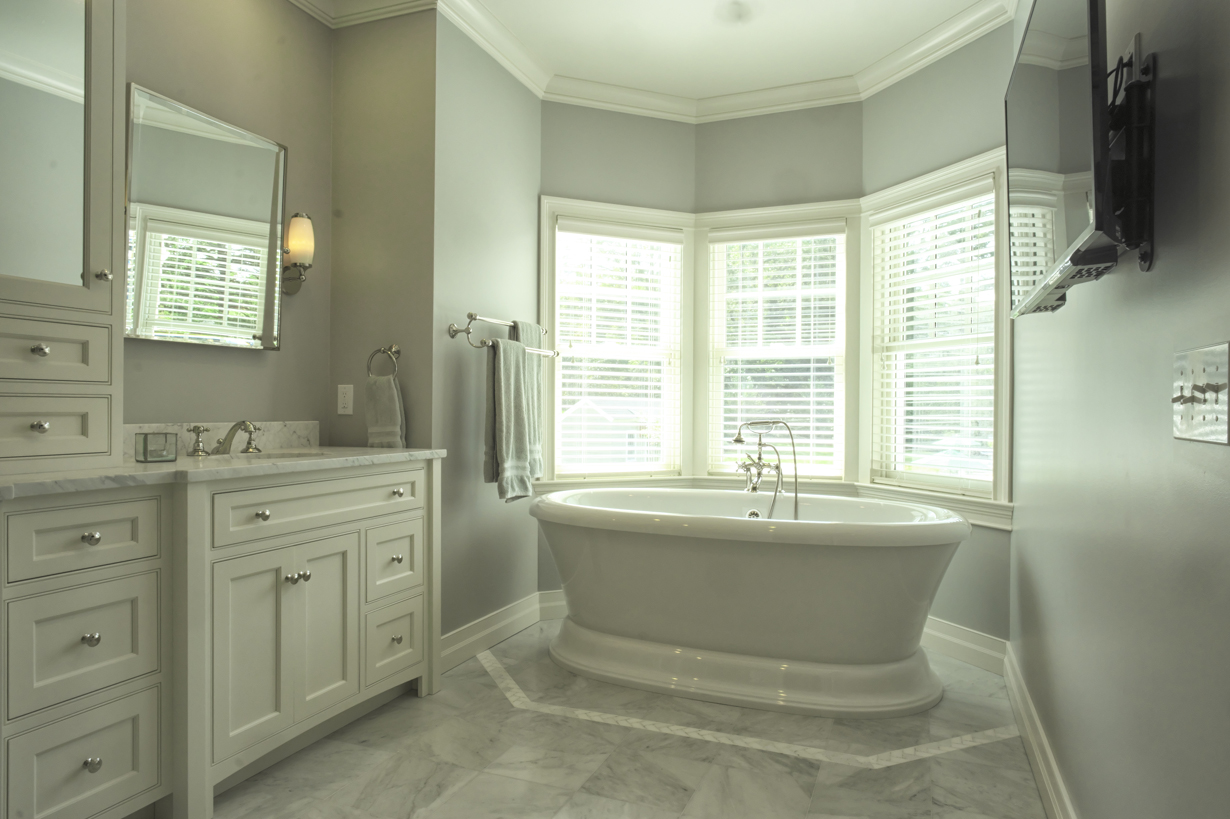 Silver belle doyle coffin architecture ridgefield ct for Bathroom construction